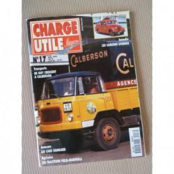 Charge Utile n°17, Peugeot D3 D4, Latil M2, Gazogène, White 444T, Marshall, Dewald, Mondoubleau, Calberson, Hangard