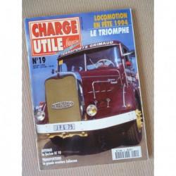 Charge Utile n°19, Renault RK, Dewald, motoculture, Saviem SC10, Calberson