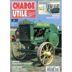 Charge Utile n°20, Renault, motoculture, Saviem SC10, Luc Court, Potain, Latil H14
