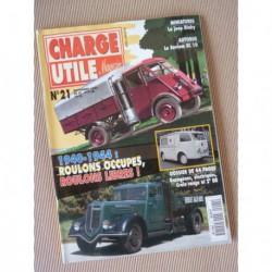 Charge Utile n°21, Rosengart LR4, Gazogène, motoculture 1940-49, Saviem SC10, Luc Court, Fenwick Urbel
