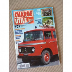 Charge Utile n°23, Laffly W15, Citroën T55, Ford, motoculture 1950-69, Mathis QGUN, Saviem SC10