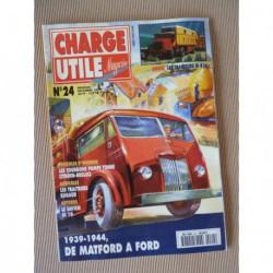 Charge Utile n°24, Fainéant, Citroën T55, International M426, Ford Matford, Saviem SC10, Glacauto 2cv HY, Nordest, Bugaud