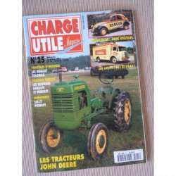 Charge Utile n°25, Stradair, Latil H14 H16, John Deere Froelich à D, Colorale, Berger, Nordest Noralpes
