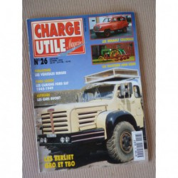 Charge Utile n°26, Berliet GBO TBO, John Deere, Colorale, Ford SAF, GMC CCKW, Berger, Nordest Noralpes, Buchet