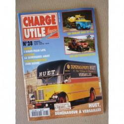 Charge Utile n°28, Berliet GBO TBO, Latil, John Deere, Jeep, Tractem, Amiot, Huet