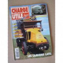Charge Utile n°30, Amilcar Compound, Latil, Boules chaudes, Lanz, Benoto, SGTD, Kollé, Odoul
