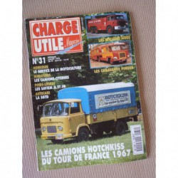 Charge Utile n°31, Latil, Saviem JL JM, motoculture, SGTD, Hotchkiss du TdF67