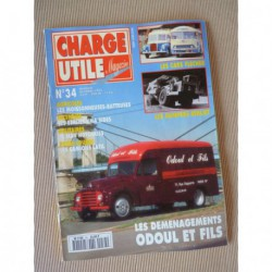 Charge Utile n°34, Citroën ID, Latil, Moissonneuse-Batteuse, Berliet Dumper, Hotchkiss PL90, Odoul & fils