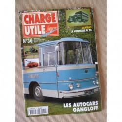 Charge Utile n°36, Delahaye 59 85, Hotchkiss PL20 PL25, Kiva, Gangloff