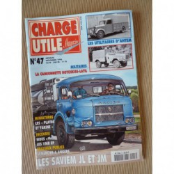 Charge Utile n°47, Saviem JL JM, Massey-Harris Pony, Saviem SC5 SC6, Antem