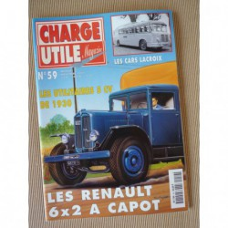 Charge Utile n°59, Renault VT ZF, Jeep, Berliet GLC, Lacroix