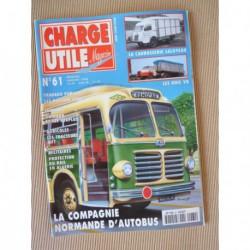 Charge Utile n°61, Unic V8, Sift, Poclain 1000, Compagnie Normande d'Autobus, Pelpel, Laloyeau