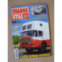 Charge Utile n°65, Champion, Cérès, Schars, Peugeot triporteur, Berliet PHL PH, Auto Express Moderne