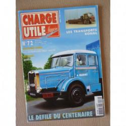 Charge Utile n°72, Paul Vallée, Yumbo, Besset Isobloc, Bonal et fils