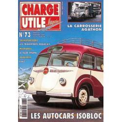 Charge Utile n°73, Lanz, Yumbo, Besset Isobloc, Raid Trapil, Agathon
