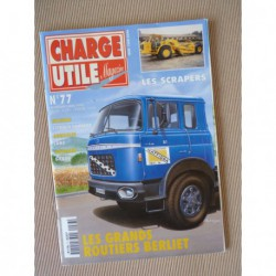 Charge Utile n°77, Berliet GRK GPRK TRK, Lanz 1952-60, scrapers, Gruau, Amar