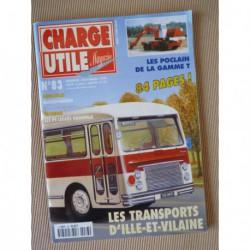 Charge Utile n°83, Berliet GLR, Massey-Harris, Renault 2.5t PS, Poclain T, TAT, CRS, Amar