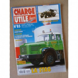 Charge Utile n°85, Massey-Harris K, électrique 39-45, Saviem E7, Stag, Amar