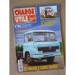 Charge Utile n°94, Vespa, Willème, Albaret, Floirat Y53, Saviem SG2 Citroën HY