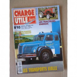 Charge Utile n°95, Albaret, Energic, Bus bourguignons, Vialle, Ford-Simca 6x6