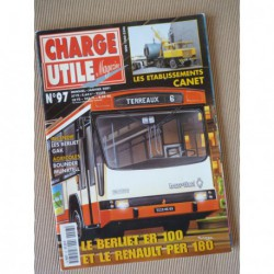 Charge Utile n°97, Bolinder-Munktell 1913-53, Berliet GAK, Volvo TP, Berliet ER100 Renault PER180, ets Canet, Gruss