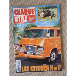 Charge Utile n°101, Citroën N P, Steyr, Albaret, Chausson, Berliet GBC8 KT, Bousquet Lempdes