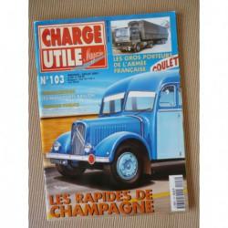 Charge Utile n°103, IH, Poclain L, Rapides de Champagne, Baillon