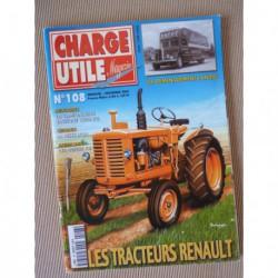 Charge Utile n°108, Renault 1945-56, Allis-Chalmers, Berliet PR, André, Gruss