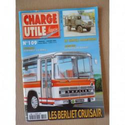 Charge Utile n°109, Colorale, Renault D E, Euclid, Berliet PR, André, Gruss Jean Richard