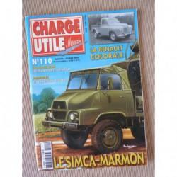 Charge Utile n°110, Colorale, Renault N, Berliet PR1 PR14, Grimaud, Gruss Jean Richard