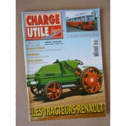 Charge Utile n°115, Renault 1919-26, Allis-Chalmers HD, Sovel, Saviem-Chausson SC4B, Jean Richard