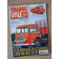 Charge Utile n°119, IH 100 ans, Gazogène, Austin-Western, Saviem SC10 RATP, Ayrault, Jean Richard