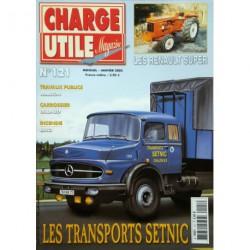 Charge Utile n°121, Renault Super, Marion, Saviem SC10 RATP, Unimog, Setnic, Jean Richard