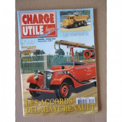 Charge Utile n°122, Delahaye Renault, Renault Master Junior, Saviem SC10 RATP, IH dumpers, Neu, Unimog, Cavada