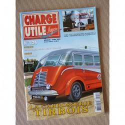 Charge Utile n°124, Renault 50-80, Heuliez Berliet, CKC Kaelble-Gmeinder, Courtin, Bouglione, Tirbois