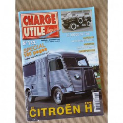 Charge Utile n°132, Citroën H, Deutz, Allis-Chalmers, Heuliez 305, Alibert