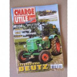 Charge Utile n°135, Deutz, Heuliez, batteurs de pieux, Coutant, Carde