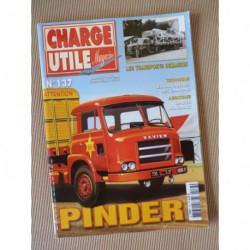 Charge Utile n°137, Mercedes LP1313, Caterpillar Traxcavator, Heuliez, Joubert, Demaison, Pinder