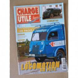 Charge Utile n°140, Berliet GLR, Case, ScoopMobile, GMC CCKW, Courriers Normands, Biro, Amar