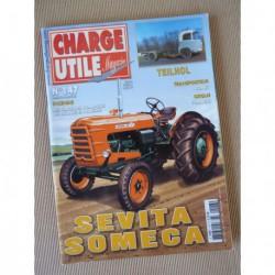 Charge Utile n°147, Sevita Someca, Stepien, Jonet, ASRMA, scrapers sur chenilles, Francki
