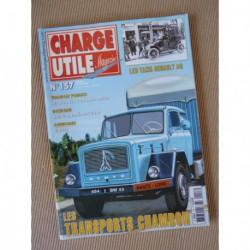 Charge Utile n°157, Eicher, Renault AG, Letourneau Transporter, Imbert, VLTT, Chambon, Rancy