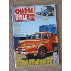 Charge Utile n°158, Rochet-Schneider, draglines, Imbert, VLTT, Rancy, TRGX