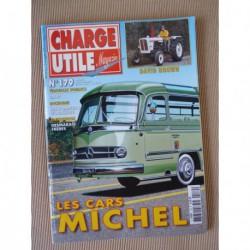 Charge Utile n°179, Renault taxi, David Brown, DART, cars Michel, Roudeix, M939, Desmarais Frères, Moralles