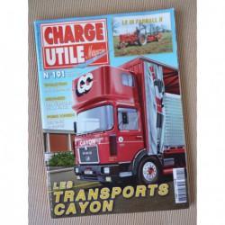Charge Utile n°191, Unic, Farmall, Caterpillar, Jacquemond, Cayon, Bob Vasseur