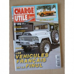 Charge Utile n°192, Unic, Ford, Caterpillar, Jacquemond, Thierry Baleige