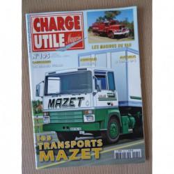 Charge Utile n°195, Allgaier Porsche, Bulldozers Euclid Terex, Somua OP5, Vetard, Mazet, Magirus, Herman Linssen