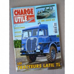 Charge Utile n°199, Latil TL, Massey-Ferguson, GMC DUKW 353, Monts-Jura, Longuet, Mike Baray