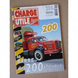 Charge Utile n°200, Farmall série 200, Setra 200, échelles pompiers Paris