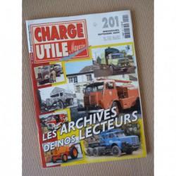 Charge Utile n°201, Renault Estafette, Citroën T45, Faure, BOM, Lapalisse, Stievenart