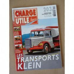 Charge Utile n°203, Latil TL, Massey-Ferguson, Hotchkiss ACHC, Jacquemond, Gerphagnon, Riffaud, Klien, Amédée